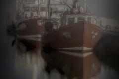 Foggy night on Dingle Bay