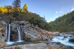 Spring Creek Falls on the Yuba